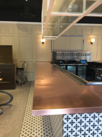 Roberts Iron Works - Copper Counter top