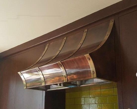 Roberts Iron Works Custom made range hood, Custom Kitchen Hood
