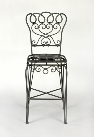 Roberts Iron Works - Hand Forged Iron Chair D3