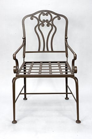 Roberts Iron Works - Hand Forged Iron Chair D1