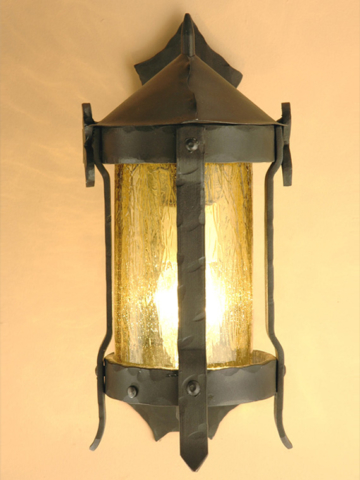 Roberts Iron Works - Hand Crafted Steel Lighting Fixture D2