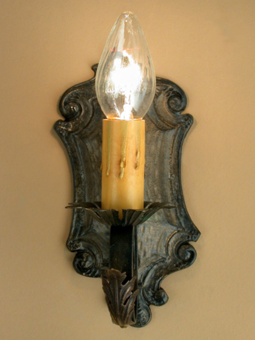 Roberts Iron Works - Hand Crafted Aluminum/Steel Sconce D8
