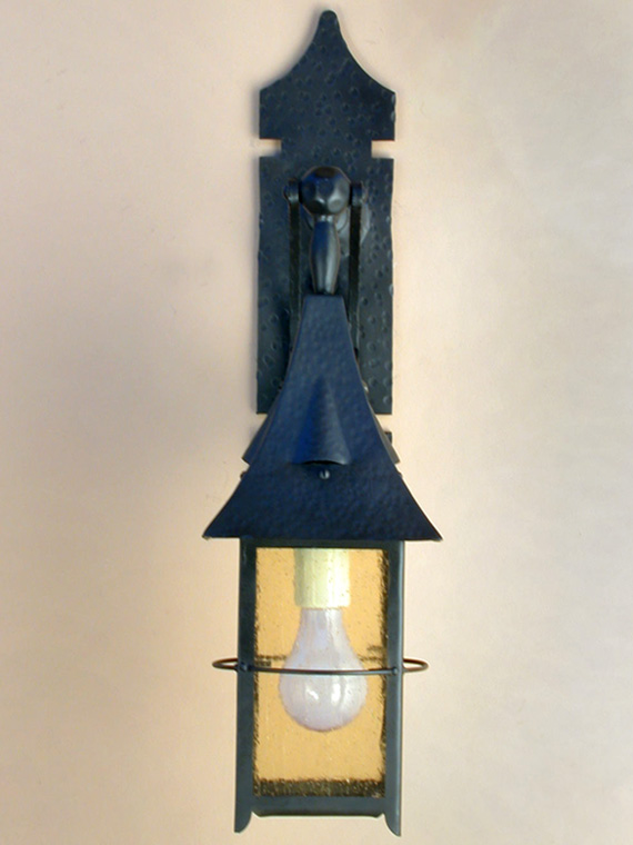 Roberts Iron Works - Hand Crafted Steel Lighting Fixture D9