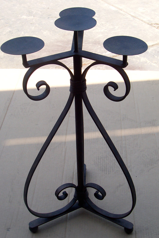 Roberts Iron Works - Iron Candle Stand