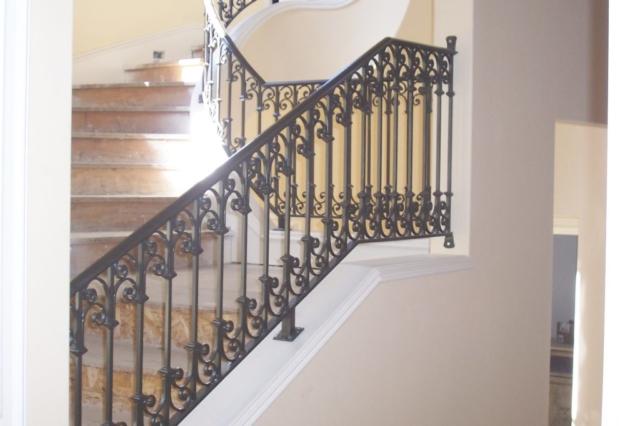 Roberts Iron Works - Spanish Stair Railing