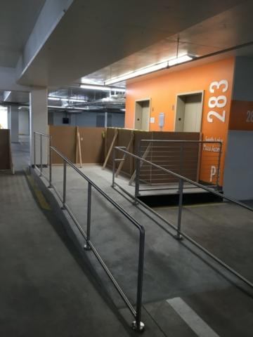 Roberts Iron Works - Handicap Railing Design