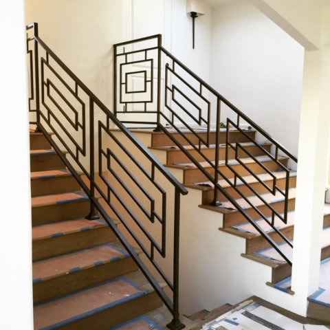 Roberts Iron Works - Modern railing designs