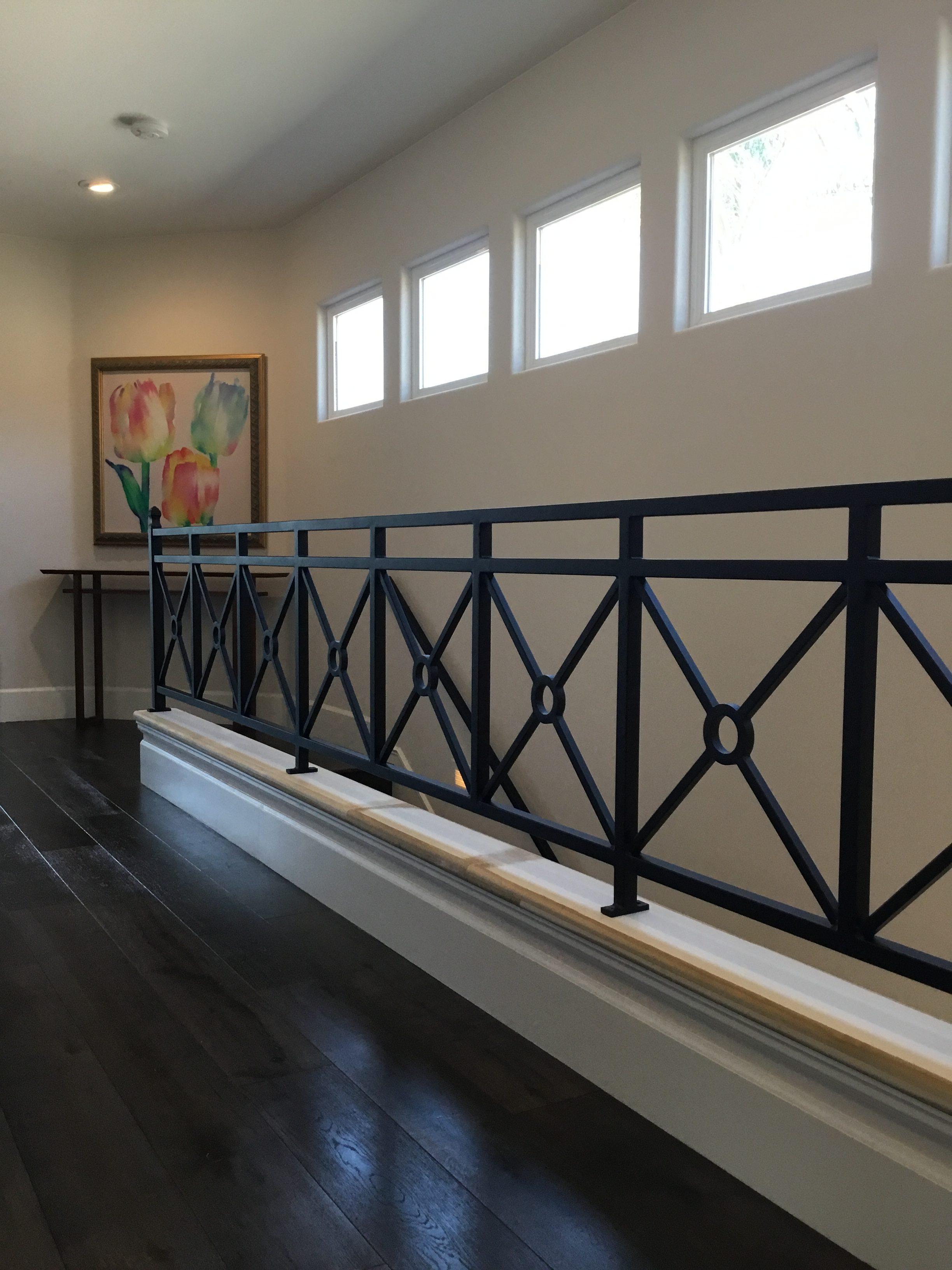 Roberts Iron Works - X Railing Design